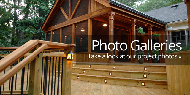 View Our Deck Photo Gallery
