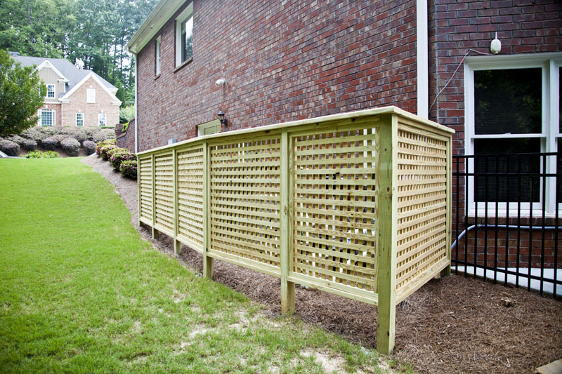 Privacy Fence For Air Conditioner Tcworks Org