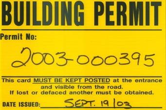 Athens building permit