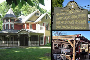 Jefferson decks Jackson porch Georgia